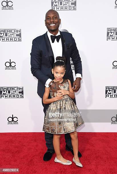 Recording artist Tyrese attends the 2015 American Music Awards at Microsoft Theater on November 22 2015 in Los Angeles California