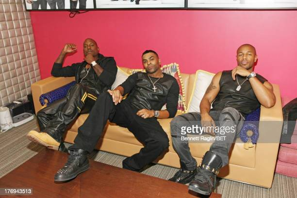 Recording artist Tyrese Ginuwine and Tank visit 106 Park on August 19 2013 in New York City