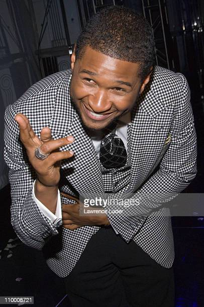 Recording artist Usher Raymond IV launches his new fragrances Usher For Men and Usher For Women September 25 at Cipriani's 23rd Street in New York...