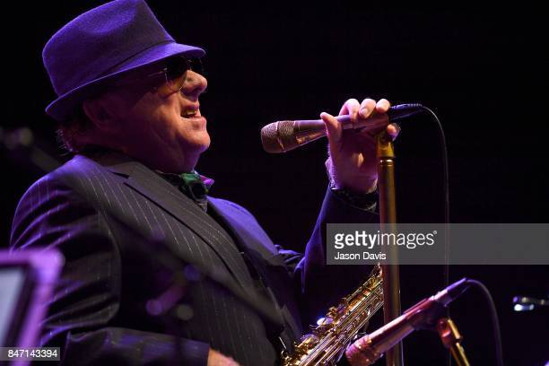 Recording Artist Van Morrison performs during the 18th Annual Americana Music Festival Conference at Ascend Amphitheater on September 14 2017 in...
