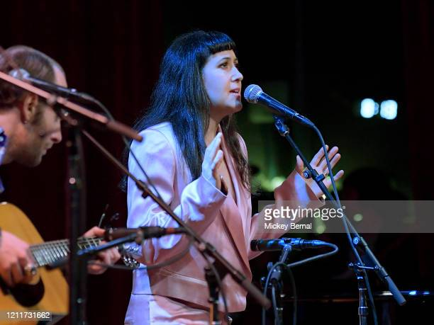 Recording artist Vanessa Carlton performs during the All Hands On Deck Tornado Relief Show at City Winery Nashville on March 10 2020 in Nashville...