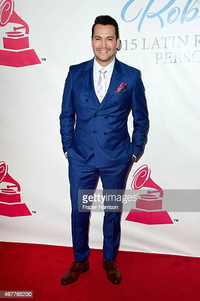 Recording artist Victor Manuelle attends the 2015 Latin GRAMMY Person of the Year honoring Roberto Carlos at the Mandalay Bay Events Center on...