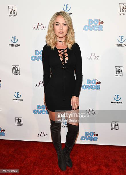 Recording artist Victoriah Bech arrives at the premiere of 'Do Over' at iPic Theaters on August 29 2016 in Los Angeles California