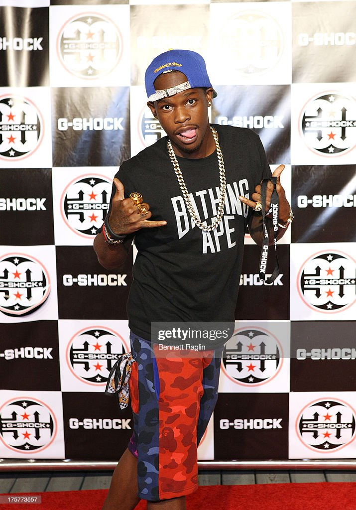Recording artist Vinnie Chase attends G-Shock - Shock The World 2013 at Basketball City - Pier 36 - South Street on August 7, 2013 in New York City.