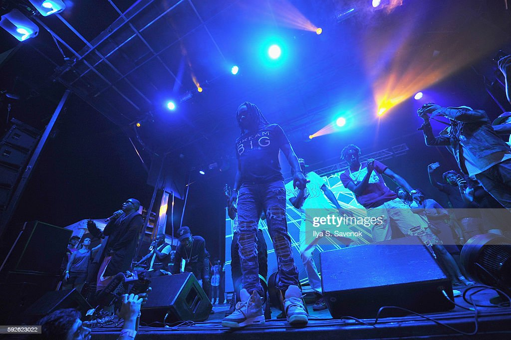 Recording artist Wale performs onstage during the 2016 Billboard Hot 100 Festival - Day 1 at Nikon at Jones Beach Theater on August 20, 2016 in Wantagh, New York.