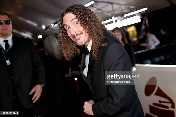 Recording artist Weird Al Yankovic attends The 57th Annual GRAMMY Awards at the STAPLES Center on February 8 2015 in Los Angeles California
