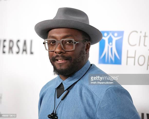 Recording artist William attends City Of Hope's 2015 Spirit Of Life Gala at Santa Monica Civic Auditorium on November 5 2015 in Santa Monica...