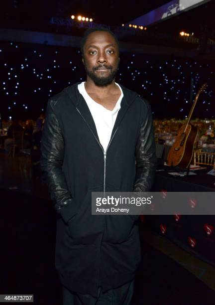 Recording artist william attends the 2014 MusiCares Person of the Year rehearsals VIP gifting and auction signings at the Los Angeles Convention...