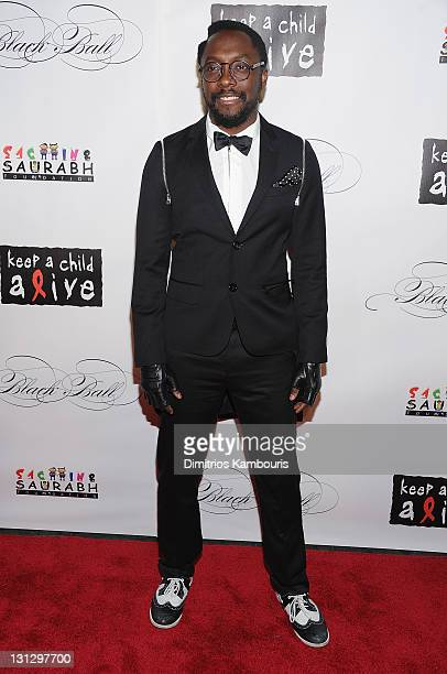 Recording artist William attends the 8th annual Keep A Child Alive Black Ball at the Hammerstein Ballroom on November 3 2011 in New York City