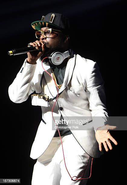 Recording artist william performs onstage during KIIS FM's 2012 Jingle Ball at Nokia Theatre LA Live on December 1 2012 in Los Angeles California