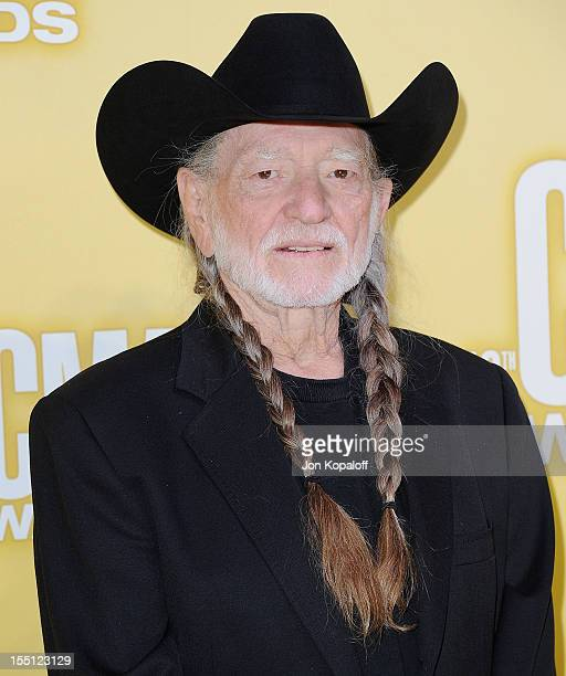 Recording artist Willie Nelson attends the 46th annual CMA Awards at the Bridgestone Arena on November 1, 2012 in Nashville, Tennessee.