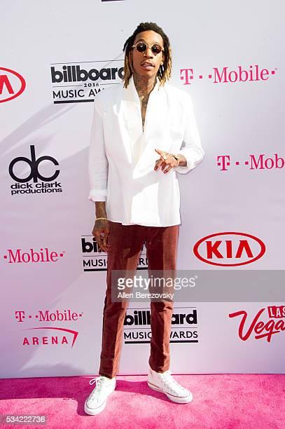 Recording artist Wiz Khalifa arrives at the 2016 Billboard Music Awards at TMobile Arena on May 22 2016 in Las Vegas Nevada