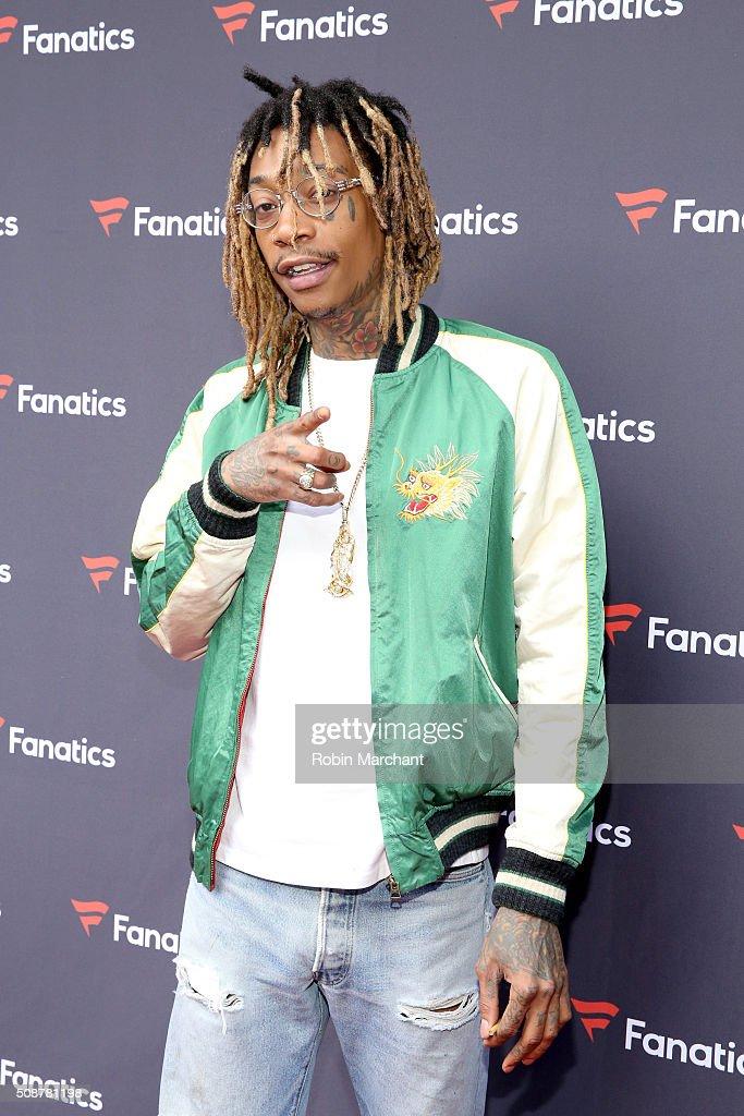 Recording artist Wiz Khalifa attends Fanatics Super Bowl Party on February 6, 2016 in San Francisco, California.