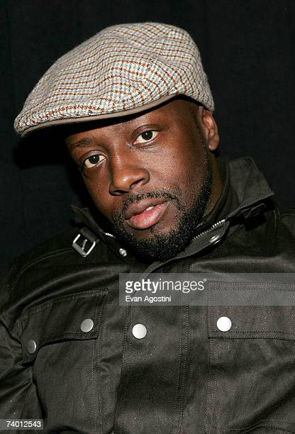 Recording artist Wyclef Jean attends the Tribeca Film Institute Screening of the Angelina Jolie directed film 'A Place In Time' at the Tribeca...