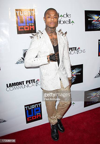 Recording Artist YestirDay attends the Party After the 2013 BET Awards hosted by Chris Brown and Nick Cannon at The Belasco Theater on June 30 2013...