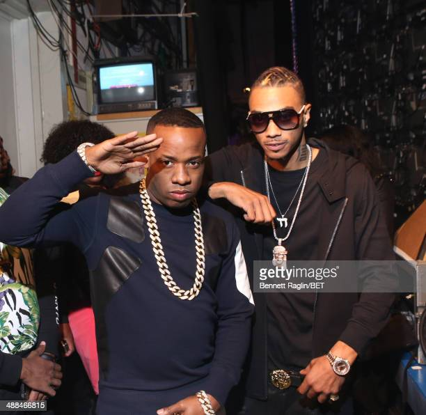 Recording artist Yo Gotti and Snootie Wild visits 106 & Park at BET studio on May 5, 2014 in New York City.