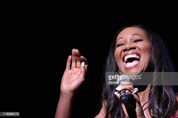 Recording artist Yolanda Adams performs during the 2013 365 Black Awards at the Ernest N Morial Convention Center on July 6 2013 in New Orleans...