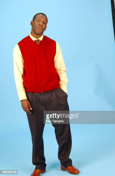 Recording artist Young Dro poses during a portrait session at JR Studio October 26, 2005 in New York City.