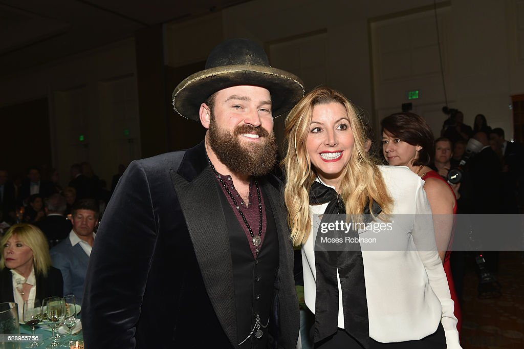 Recording Artist Zac Brown and Sara Blakely attends 25th Annual Captain Planet Foundation Gala at Intercontinental Buckhead on December 9, 2016 in Atlanta, Georgia.
