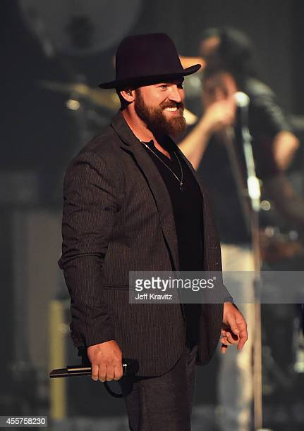 Recording artist Zac Brown of the Zac Brown Band performs onstage during the 2014 iHeartRadio Music Festival at the MGM Grand Garden Arena on...