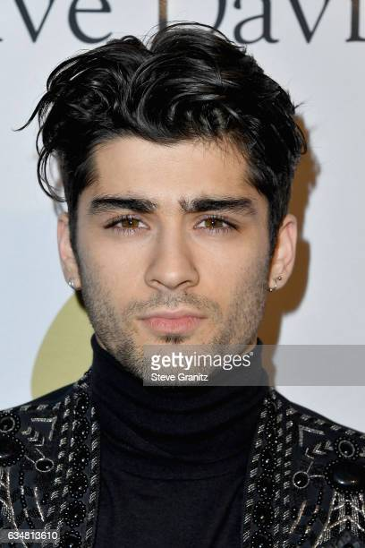 Recording artist Zayn Malik attends PreGRAMMY Gala and Salute to Industry Icons Honoring Debra Lee at The Beverly Hilton on February 11 2017 in Los...