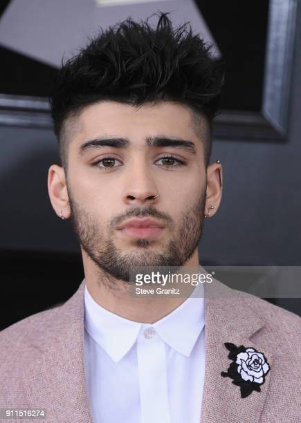 Recording artist Zayn Malik attends the 60th Annual GRAMMY Awards at Madison Square Garden on January 28 2018 in New York City