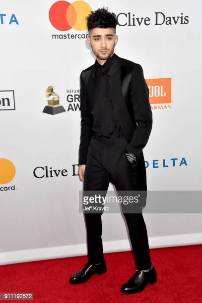 Recording artist Zayn Malik of One Direction attends the Clive Davis and Recording Academy PreGRAMMY Gala and GRAMMY Salute to Industry Icons...
