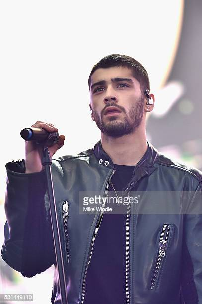 Recording artist Zayn performs on stage during 1027 KIIS FM's 2016 Wango Tango at StubHub Center on May 14 2016 in Carson California