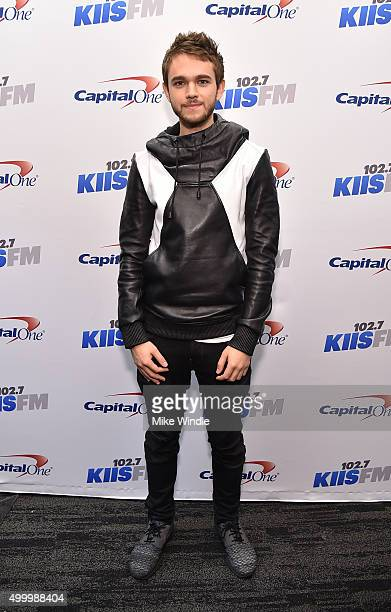 Recording artist Zedd attends 1027 KIIS FM's Jingle Ball 2015 Presented by Capital One at STAPLES CENTER on December 4 2015 in Los Angeles California