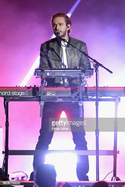 Recording artist Zedd onstage during the 2018 Billboard Music Awards at MGM Grand Garden Arena on May 20 2018 in Las Vegas Nevada