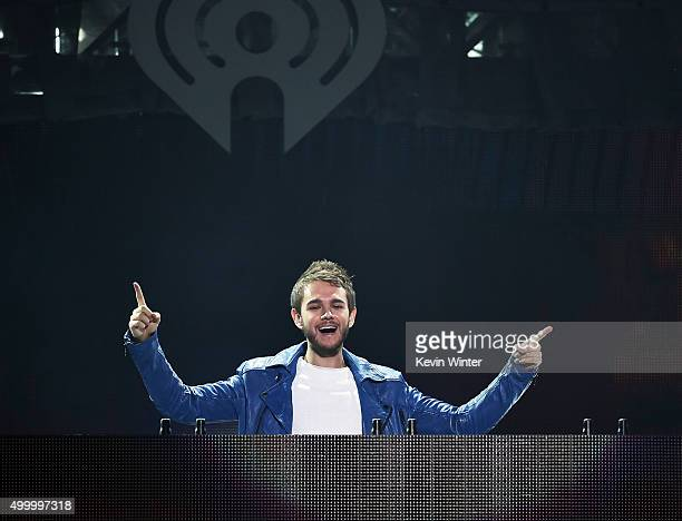 Recording artist Zedd performs onstage during 102.7 KIIS FM's Jingle Ball 2015 Presented by Capital One at STAPLES CENTER on December 4, 2015 in Los...