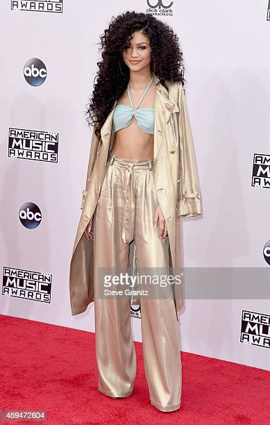 Recording artist Zendaya attends the 2014 American Music Awards at Nokia Theatre LA Live on November 23 2014 in Los Angeles California