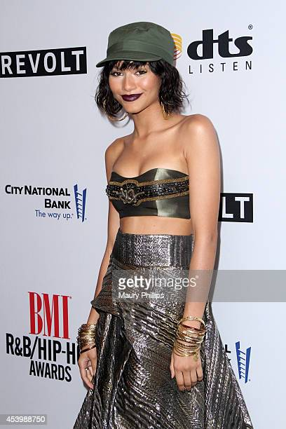 Recording artist Zendaya attends the 2014 BMI RB/HipHop Awards at the Pantages Theatre on August 22 2014 in Hollywood California