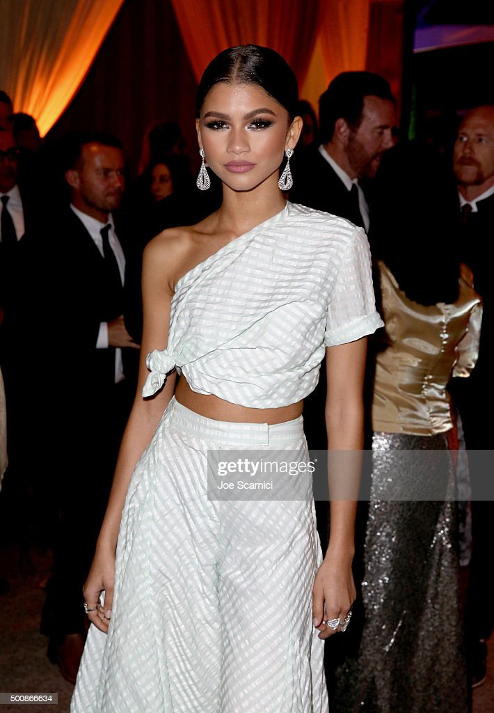 Recording artist Zendaya attends The Diamond Ball II with D'USSE and Armand de Brignac at The Barker Hanger on December 10, 2015 in Santa Monica, California.