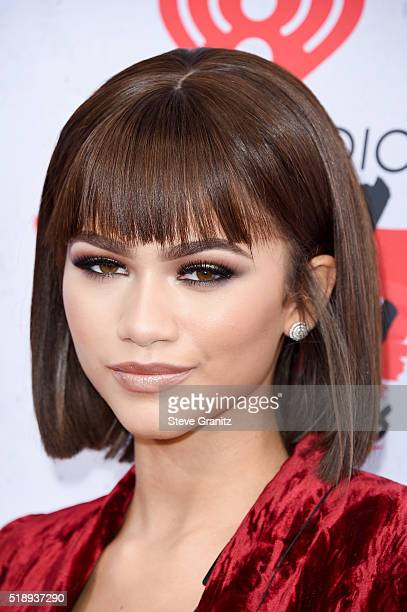 Recording artist Zendaya attends the iHeartRadio Music Awards at The Forum on April 3, 2016 in Inglewood, California.