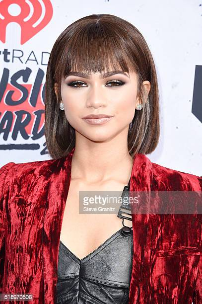 Recording artist Zendaya attends the iHeartRadio Music Awards at The Forum on April 3 2016 in Inglewood California