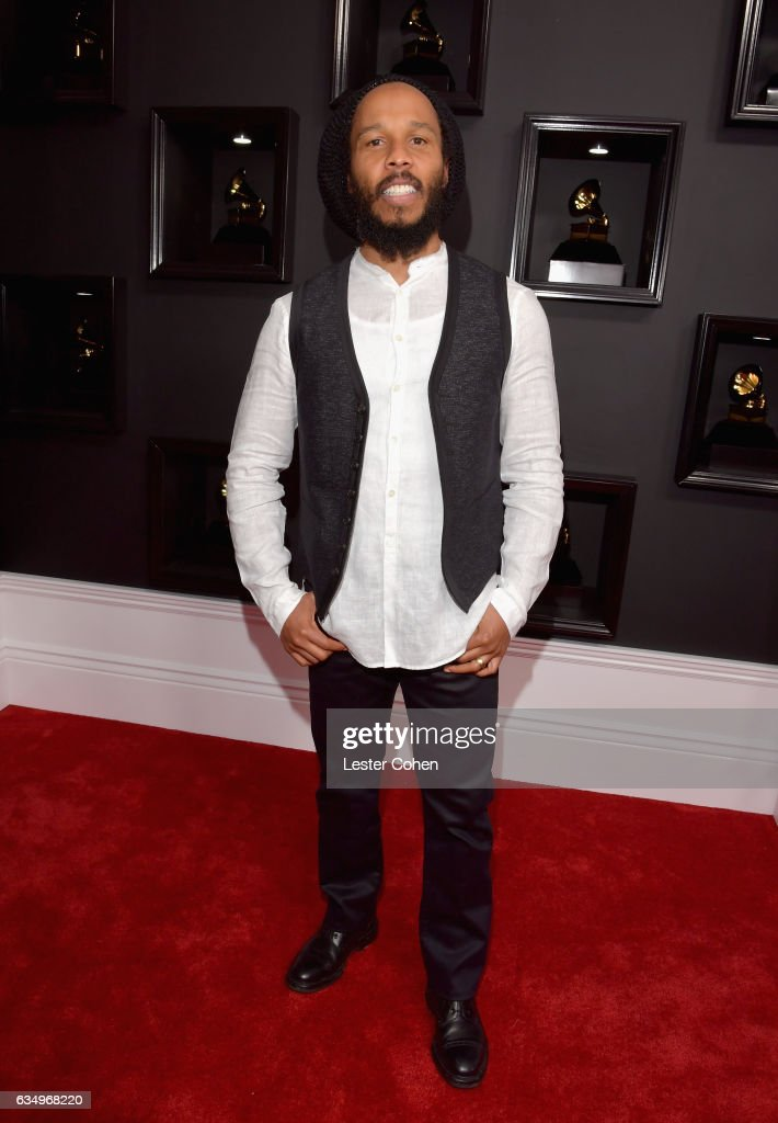 Recording artist Ziggy Marley attends The 59th GRAMMY Awards at STAPLES Center on February 12, 2017 in Los Angeles, California.