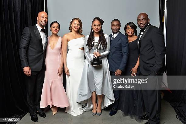 Recording artist/actor Common, actress Tessa Thompson, actress Carmen Ejogo, director/producer Ava DuVernay , actor David Oyelowo, actress Niecy Nash...