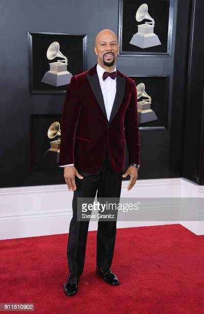 Recording artist/actor Common attends the 60th Annual GRAMMY Awards at Madison Square Garden on January 28 2018 in New York City