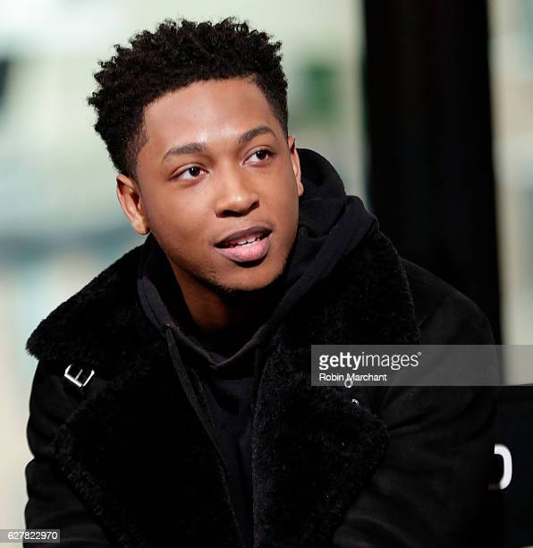 Recording Artist/actor Jacob Latimore attends Build Presents Jacob Latimore Discussing His New Film 'Collateral Beauty' at AOL HQ on December 5 2016...