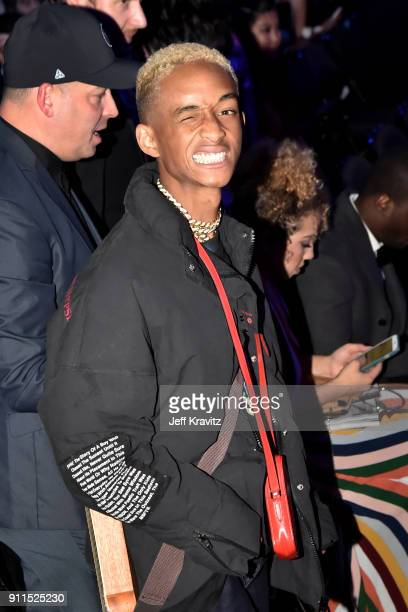 Recording artist/actor Jaden Smith attends the 60th Annual GRAMMY Awards at Madison Square Garden on January 28 2018 in New York City