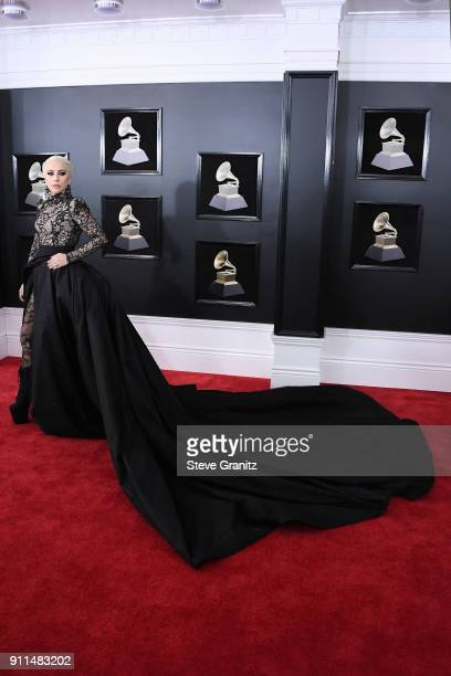 Recording artist/actor Lady Gaga attends the 60th Annual GRAMMY Awards at Madison Square Garden on January 28 2018 in New York City