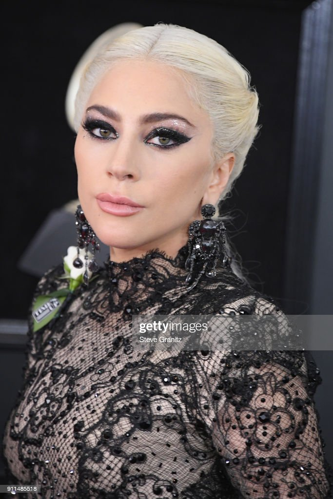 Recording artist/actor Lady Gaga attends the 60th Annual GRAMMY Awards at Madison Square Garden on January 28, 2018 in New York City.