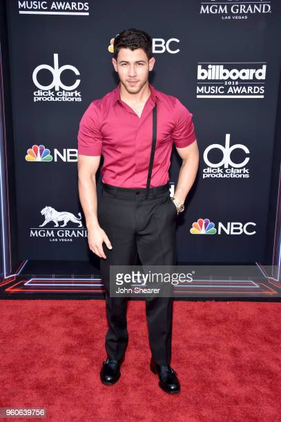 Recording artistactor Nick Jonas attends the 2018 Billboard Music Awards at MGM Grand Garden Arena on May 20 2018 in Las Vegas Nevada