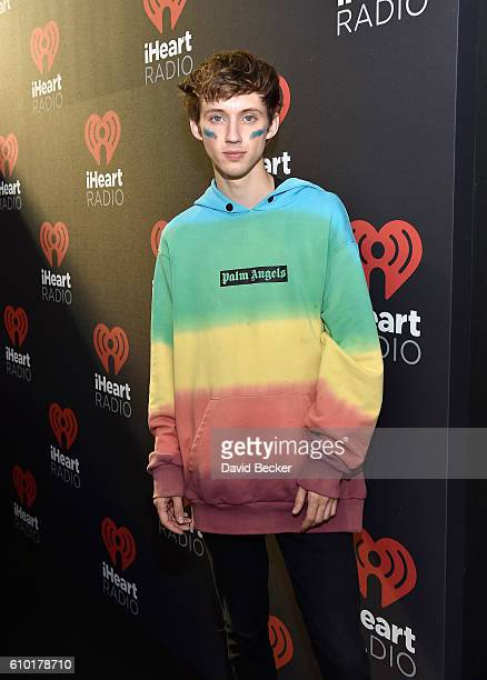 Recording artist/actor Troye Sivan attends the 2016 Daytime Village at the iHeartRadio Music Festival at the Las Vegas Village on September 24, 2016...