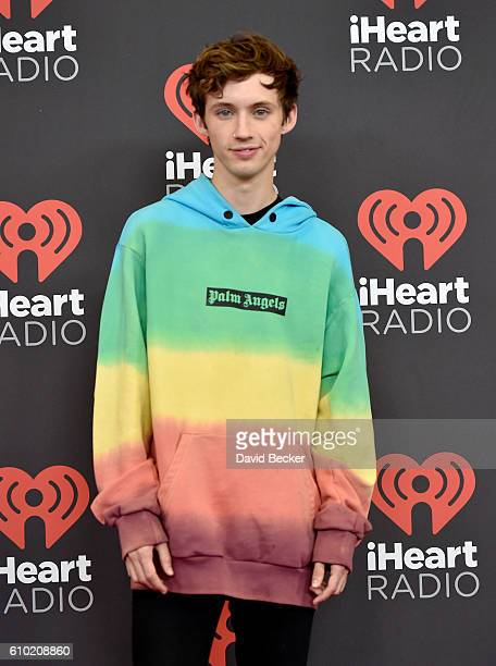 Recording artist/actor Troye Sivan attends the 2016 iHeartRadio Music Festival at TMobile Arena on September 24 2016 in Las Vegas Nevada