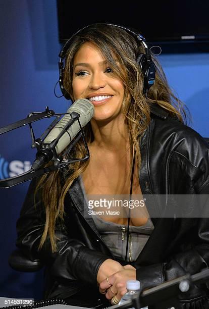 Recording artist/actress Cassie Ventura visits HHN at SiriusXM Studios on March 9 2016 in New York City