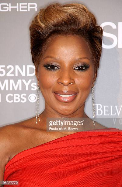 Recording artist/actress Mary J Blige attends the ESSENCE Black Women in Music event at the Sunset Tower Hotel on January 27 2010 in West Hollywood...