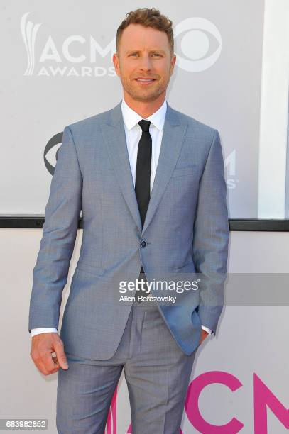 Recording artist/cohost Dierks Bentley attends at the 52nd Academy Of Country Music Awards on April 2 2017 in Las Vegas Nevada