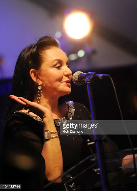 Recording Artist/Loretta Lynn's sister Crystal Gayle at Loretta Lynn A Tribute To An American Country Music Icon at The Loretta Lynn Ranch on...